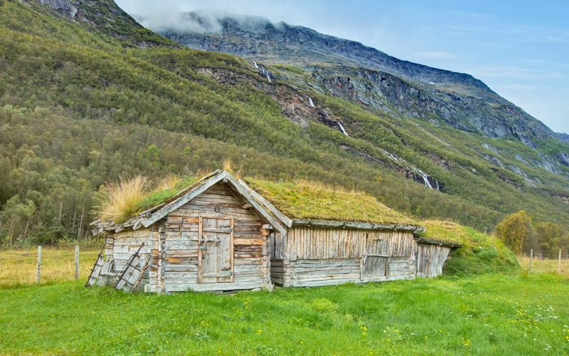 Holmenes sjøsamiske gård