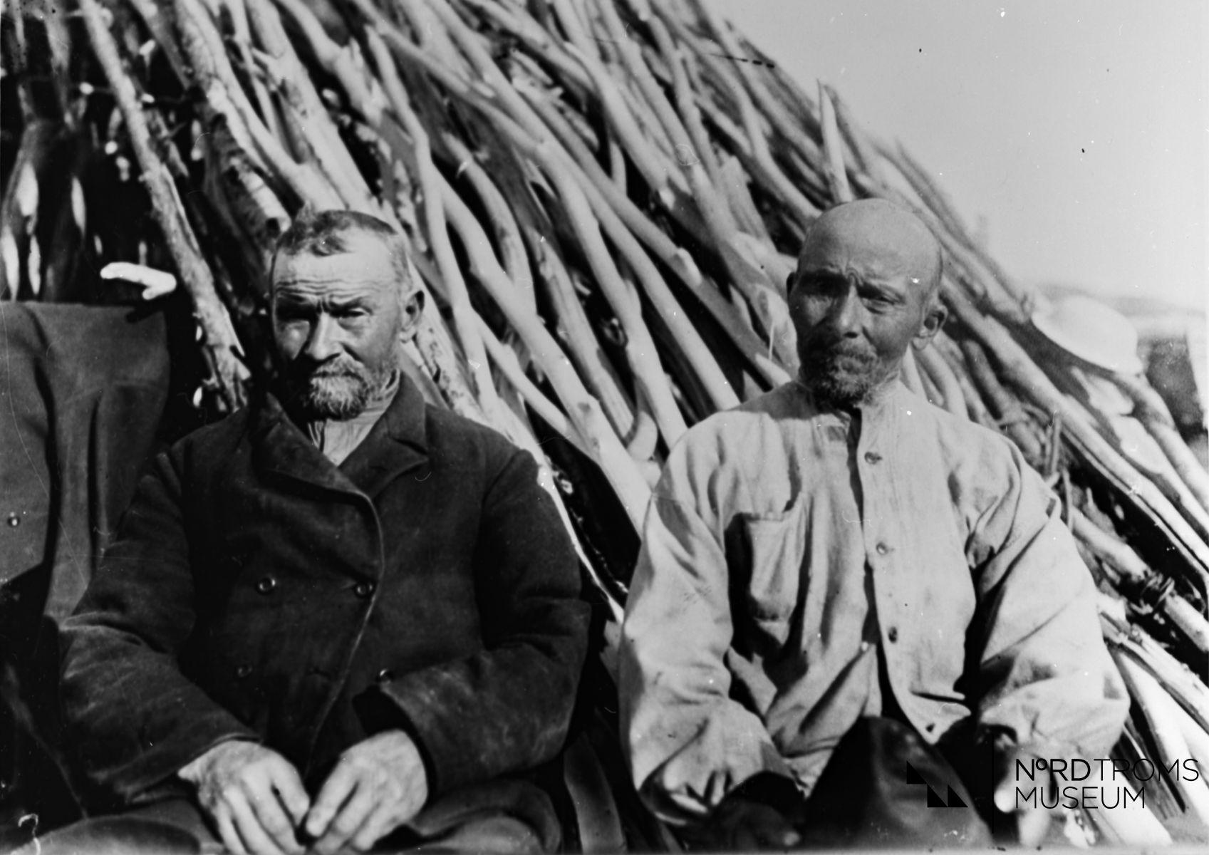 Tommas Tomassen og  Nils Henrik Tomassen Skibotn